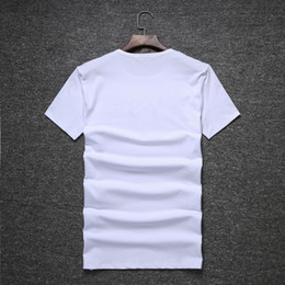 Wholesale Couple Tees - New In the summer top quality Couple Lovers T-shirt MEN Ms Women Camisetas Mujer Tees Men Short Sleeve O-neck Casual T Shirts
