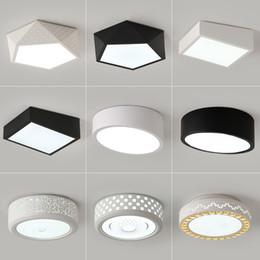 LED Ceiling Lights Round Master Bedroom Lamp Modern Minimalist Creative Room For Children Balcony Aisle Living
