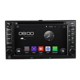Wholesale A9 Touch Screen Mobile - Pure Android 4.4 Cortex A9 Dual-core Car DVD Player For Kia Cerato Sportage CEED Sorento Spectra Optima Rondo Rio Sedona Carens