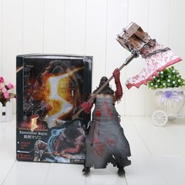 Wholesale Resident Evil Figures - Wholesale- New NECA Resident Evil 8 inch Biohazard Executioner Majini Action Figure Toys Child Figures Birthday Gift