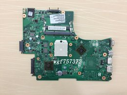 Wholesale Coaxial Socket - For Toshiba Satellite L650D L655D Laptop Motherboard V000218060 6050A2333201-MB-A02 Socket S1 DDR3 Notebook Systemboard