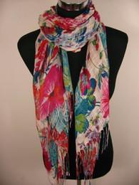 Wholesale Wholesale Ladies Viscose Scarf - Girls Ladies Spring Summer scarf ponchos wraps scarves shawl 24pcs lot
