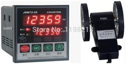 Wholesale Meter Measurer - Wholesale- Wire length counter 5-digital length measurer wheel meter JDM72-5S + LK-90-1 digital couters