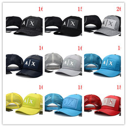 Wholesale Caps Hundreds - Hot New fashion AX hats Brand Hundreds Strap Back men women bone snapback hat Adjustable panel Casquette golf sports baseball Cap