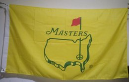Wholesale Cm Club - The US Masters Tournament Flag 90 x 150 cm Polyester Golf Club Fans Banner