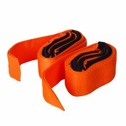 Wholesale Furniture Moving Straps - Wholesale- New Orange straps Forearm Forklift Lifting and Moving Furniture Carrying Belt