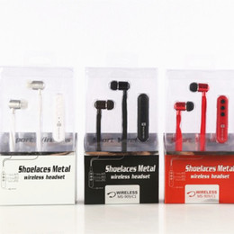Wholesale Music Box Noise - MS-909C1 In-ear Bluetooth 4.1 Headphones Stereo Fashion Sport Running Wireless Headsets Studio Music Earphones With Mic Handsfree In Box