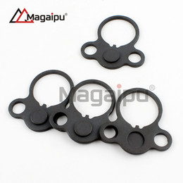 Wholesale Rifle Tube - Magaipu AR Dual loop Sling mount Adapter End Plate Right Left Handed Mount for Rifle Stock Buffer Tube