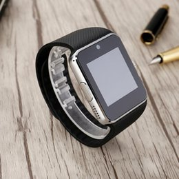 Wholesale Waterproof Cell Phones For Sale - GT08 smart watch card phone Bluetooth foreign trade sales cheap phones smart phones unlocked cell phone wifi Flip phone