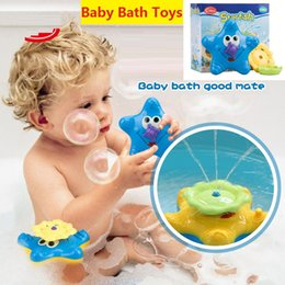 pala de plástico de playa Rebajas Juguetes de baño para bebés Rociadores Pequeñas estrellas de mar Juguetes de natación Juguete para niños Regalo para el bebé Sassy Water Fun Novelty Toy z023