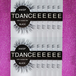 Wholesale Hair Stripping Products - New Products TDANCE 100% Professional 12 Pairs Pack Makeup False Eyelashes For Daily Make up Free Shipping