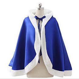 Wholesale Girls Boleros - New Brand Girl Cloak Faux Fur Short Cape Xmas Kids Wraps Royal Blue Satin Hooded Bolero Latest Collection