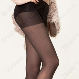 Wholesale Sexy Toes Tights - Wholesale- Open Toe Pantyhose Sexy Charming Women's Tights Stockings 4Color Fashion Female Transparent Long for Spring Fall BQY7