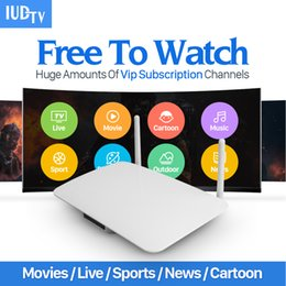 Wholesale Ip Set - Smart Android Europe Arabic IPTV box Arabox 1400+ IP TV Arabic TV Box Live Stream Sports IPTV Media Set-top Box Streamer