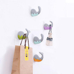 Wholesale Handicraft Wall - Creative Model Of Marine Animal Tail Hook Home Decoration Hanging Hot Style Resin Handicraft Coat Wall Hooks Pared Wallets Wall Hanger