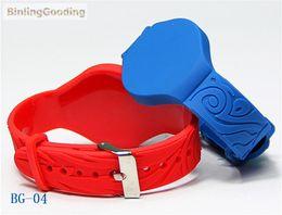 pulseiras rfid 125khz Desconto Atacado-BG-04 100PCS / LOTE 125khz EM4305 RFID Pulseira Ajustável Bracelet Rewritable ID Card Para Piscina Sauna Quarto GYM