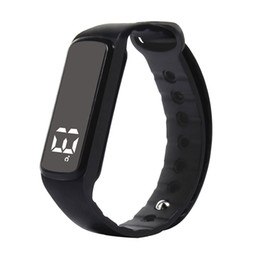 Wholesale Hours Counter - Wholesale- Original ufit smart bracelet 24 hours step counter sleep monitor temperature time multifunctional sport smart wristbands CD5