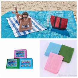 Wholesale Pad Outdoor - Sand Free Mattress Summer Beach Mat 200 x 150cm Waterproof Outdoor Camping Picnic Pad Picnic Blankets