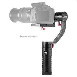 Deutschland AFI VS-3SD 3-Achsen-Handheld Gimbal Brushless Fernbedienung Kamerastabilisator Handeld Steady für Canon 5D für Sony für GH4 DSLR Versorgung