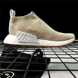 Wholesale Naked Original - KITH x NAKED x Consortium NMD CS2 Boost Running Sneakers BY2597 Men Women Running Shoes With Original Box
