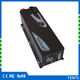 Wholesale Inverter Pure Sine Charger Battery - power star 5000W 50Hz 48v low Frequency car inverter pure sine wave inverter with charger battery priority for water pump