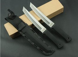 Wholesale Knives S35vn Steel - AAAAA OEM version Cold Steel RECON TANTO SAN MAI Hunting Fixed Knives,9Cr18Mov Blade ABS Handle Camping Knife,Survival Knife.