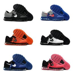 Wholesale Cheap Shoe Brands - 2017 Cheap Running Shoes For Men Women Max 2017 Plastic KPU Sports Shoes High Quality Outdoor Sneakers Brand Free Shipping