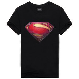 Wholesale Superman T Shirt Prints - Famous Brand Muhammad Hulk Superman T shirt Men Printed T shirt Fashion Brand Summer Style Anime T shirt