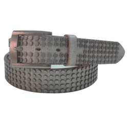 Wholesale Tan Color Belts - salman khan middle fully round small studded two color stud genuine cowhide vegetable tanned leather high end men top quality belt