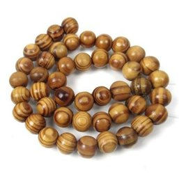 Wholesale wood space - Natural Woodgrain Round Space Bead Oval Charms For Necklace Bracelet Findings Jewelry Making Handcraft Accessories 200PCS Z926