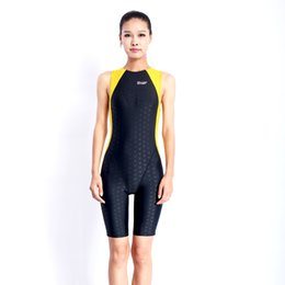 Wholesale Tight Fitting One Piece - Sharkskin Polyester swimwear protective swiming suit tight - fitting water sport wetsuits unisex diving suit free shipping HX14