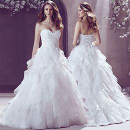 Wholesale Short Taffeta Wedding Dress Sweetheart - Beading Vestido De Noiva Fashionable New Sweetheart Wedding Dress Hign Quality Beaded Bodice Mermaid Bridal Gown
