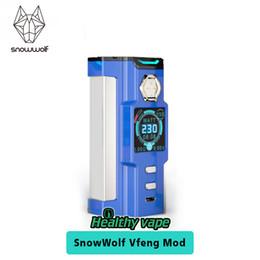 Snowwolf Vfeng 230W TC Boîte Mod 1,30 pouces TFT Écran Couleur pour Snow Wolf Atomizer 100% Original ? partir de fabricateur