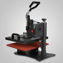 "Wholesale mug presses - 6IN1 MULTIFUNCTIONAL T-SHIRT SUBLIMATION DIGITAL TIMER PRINTING MACHINE 15""X12"" PLATEN LATTE MUG COFFEE CUP HEAT PRESS TRANSFER MACHINE"