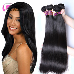 Wholesale Wholesale Premium Human Hair - XBL Straight Hair Extensions Brazilian Straight Hair 8-30 Inch Double Layers Top Premium Human Hair Wefts