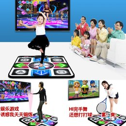 Wholesale Pcs Song - With English Song HD Non-Slip Dancing Step Dance Mat Pad Pads Dancer Blanket Fitness Equipment Revolution Foot Print Mat to PC with USB New