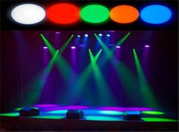 Wholesale Green Led Spot Lights - Wholesale-Hot mini stage white red green blue yellow color disco beam led pinspot light for dj party mirror ball pin spot light spotlight