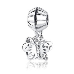 Wholesale pandora heart dangle charms - Authentic 925 Sterling Silver Original Vintage Love Knot With Clear CZ Dangle heart mom Charm Fit European pandora Braclet & Necklace