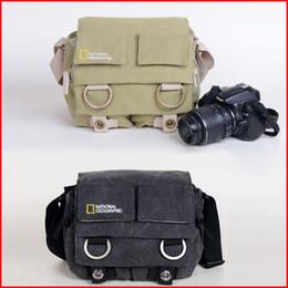 Wholesale National Geographic Camera Shoulder Bag - high quality NATIONAL GEOGRAPHIC Professional DSLR camera bag  case For 18-55mm lens D3000 D3100 D5000 D5100 550D 600D