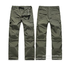 Wholesale Tactical Uniform Pant - Wholesale- free shipping Male trousers multi pocket pants tactical special tooling quick-drying uniform waterproof plaid pants