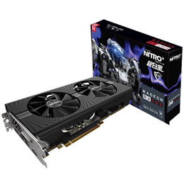 Wholesale Card 256 Bit - For Brand NEW For Sapphire RX580 8G Computer Game Video Card RX 580 8GB Graphics For AMD CrossFire 256 bit Transcend GTX1060 RX480