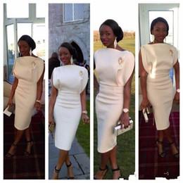 2019 elie saab gris largo vestido Único 2017 nuevos vestidos de cóctel del diseño de la longitud del té estilo árabe Celebrity vestidos de fiesta vaina por encargo corto vestidos de baile por encargo