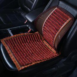 Wholesale Car Seat Cushions Brown - Car Accessories Seat Cushion Summer Breathable Pillow Backrest Charcoal Cushion Car Seat Cover Summer Slip Mat Car Seat Cushion
