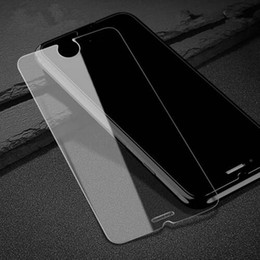 Wholesale Iphone Touch Screen Mirror - For iPhone 8 x 5 se 6 6s plus 5.5 7 plus 7plus Outer Front Temper Glass Screen Protector Film Smart Touch Protective without Retail Package