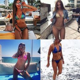 2019 mais maiô Nova Chegada Sexy Brilhante Ouro Verde Prata Lantejoulas Biquíni Thong Set Maiô Bandeau Swimwear Plus Size Mulheres mais maiô barato