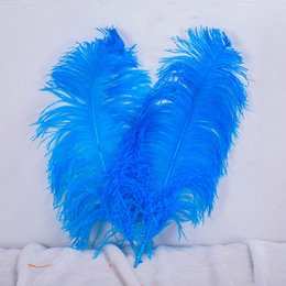 royal blue decorations for party Coupons - Ostrich Feather 55-60cm Table Centerpieces 22-24inches Ostrich Plumes Feather for Wedding Event & Party Supplies Royal Blue Ostrich Feathers