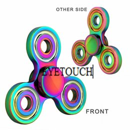 Wholesale Toy Gifts Wholesale Direct - Factory Direct DHL free shipping Professional Spinner Pattern Hand Spinner Zinc Alloy Finger Spinner Children AdultsToy Gifts in stock