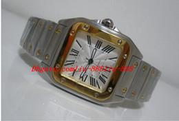 роскошные часы xl Скидка Роскошные часы Наручные часы Galbee XL мужская высокое качество автоматическая 18kt желтого золота стали W20099c4 Tag часы мужские часы