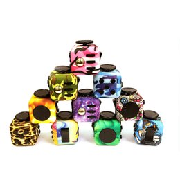 Wholesale First Plastic Toys - Newest Popular Decompression Toy Fidget Cube the world's first American Decompression Anxiety Toys Mixed Colors Free Shipping