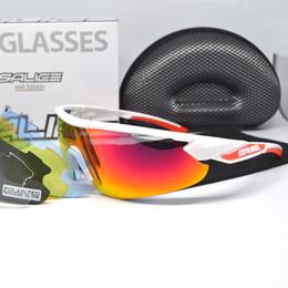 lampre merida Occhiali Light Blue Baum Lida Fleet Edition Five Lenti polarizzate per occhiali da sole da bici da